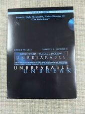 Unbreakable 2 Dvd Set Vista Bruce Willis Samuel L Jackson M Night Shyamalan Film