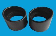 2PC Binocular microscope Eyepiece Cups Rubber eye guards EyeShield for 33-35mm