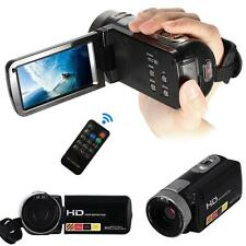 Camera Camcorder DV 1080P 24MP LCD Touch Screen Digital Video W/Remote Control