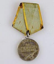 II WK UdSSR Original Orden für Verdienste im Kampf Silber Medaille