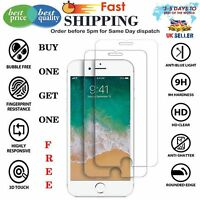 For Apple IPhone 8 -100% Genuine Tempered Glass Film Screen Protector Free Free