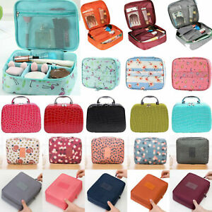 Lady Cosmetic Bag Make Up Wash Case Organizer Travel Toiletry Vanity Small Box