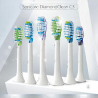 For Philips Sonicare C3 Premium Plaque Control Standard Sonic Toothbrush Heads