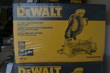 """NEW DEWALT  DW713 10"""" PORTABLE COMPOUND MITER SAW"""