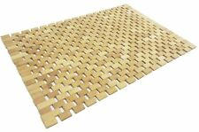 Bamboo Wood Duck Board Wooden Non Slip Bath Mat Bathroom Mats 70 X 50cm