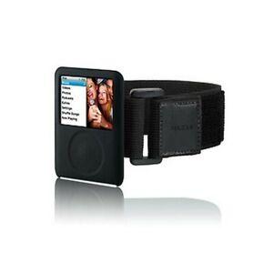 BRAND NEW Belkin iPod SILICONE ARMBAND BLACK Case F8Z214EA FAST FREE POST