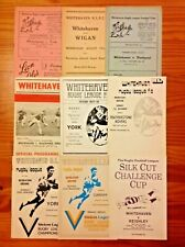 More details for whitehaven rugby league programmes 1952 - 2008