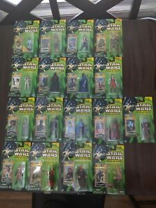 Star Wars Power of the Jedi Action Figures - Lot of 17 - Most Have Shelf Wear