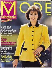 Burda Mode für Vollschlanke H 3/89
