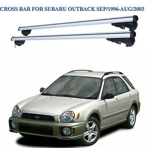 Roof Rack Cross Bars For Subaru Outback 9/1996-8/2003 With Rised Roof Rails