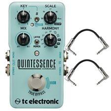 TC Electronic Quintessence Harmonizer Dual Voiced Guitar Effects Pedal w/ Cables