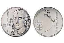 5 Euro Sondermünze 2016 Portugal Königinn D. CATARINA DE BRAGANÇA UNC