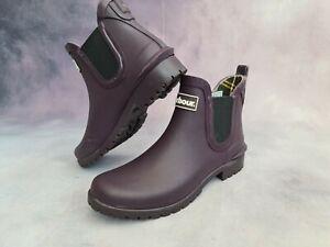BARBOUR Wilton Wellington Womens Boots UK Size 5