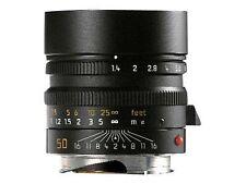 Leica Summilux-M 50 mm F/1.4 MF Objektiv (Schwarz)