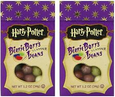 HARRY POTTER BERTIE BOTTS BEAN 1.2oz (34g) Jelly Belly Bott's Candy 2 Boxes RARE