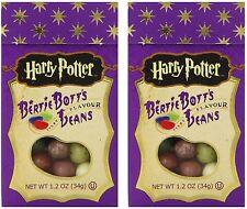 HARRY POTTER BERTIE BOTTS BEAN 1.2oz (34g) Jelly Belly Bott's Candy 2 Boxes RARE