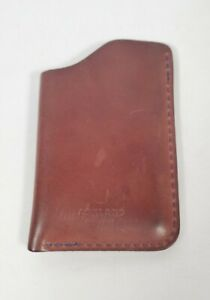 Ashland Leather Horween Color Shell Cordovan Wallet Card Case Brown