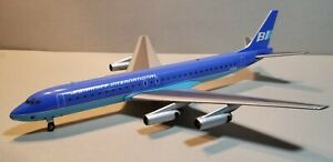 AVIATION 200 BRANIFF INTERNATIONAL DC8-62 (BLUE) 1:200 SCALE DIECAST MODEL