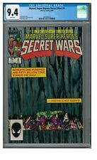 Marvel Super Heroes Secret Wars #4 (1984) CGC 9.4 White Pages FF356