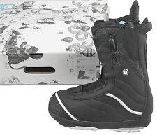 New $300 Burton Q Womens Snowboard Boots! Us 4, Uk 2.5, Euro 34, Mondo 21 Black