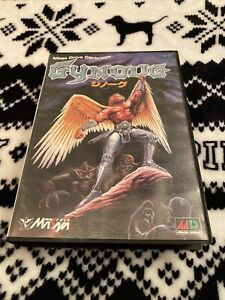 Gynoug Genuine Sega Genesis Mega Drive Cart Cartridge COMPLETE