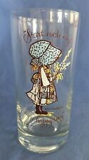 1972 American Greetings Holly Hobbie 12oz Drinking Glass Start Each Day A Happy