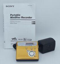 Sony Md Mz-N505 Gold Minidisc Walkman Player