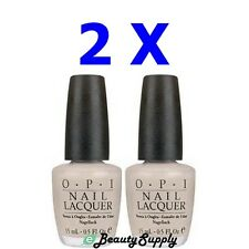 OPI Nail Polish Lacquer NL H23 Just Tea-Sing ! 0.5 oz (Lot of 2)