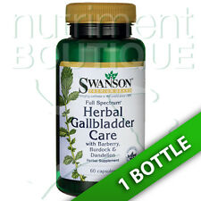 Full Spectrum Herbal Gallbladder Care 60 Caps by Swanson
