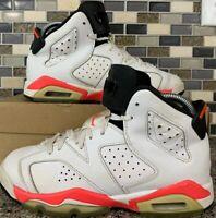 Nike Air Jordan 384665-123 Retro 6 Infrared White Black 4.5 Womens Size 6