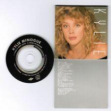 "KYLIE MINOGUE Turn It Into Love/Heaven JAPAN 3"" CD Alfa 10B3-2 PS torn, missing"