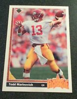 1991 Upper Deck Football cards #1 to 700 (PICK / CHOOSE YOUR CARDS)