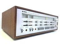 YAMAHA CR-1000 FM Stereo Receiver 140Watts RMS Vintage 1974 Refurbished Like New