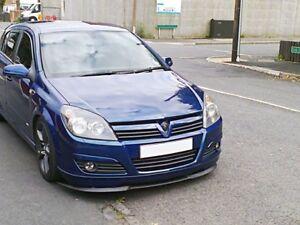 Vauxhall Opel Astra H MK5 5 Front Bumper Cup Chin Spoiler Lip Splitter Valance