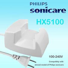 Philips Sonicare HX5351/HX5751/HX7800/HX9500/6100 Essence/Elite HX5100 Charger