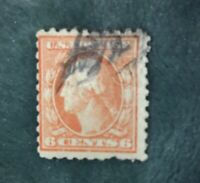 RARE 1917 George Washington 6¢ Postage Stamp