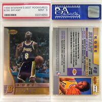 1996 Kobe Bryant Bowmans Best RC Rookie PSA 9 GRADED! MINT! RARE!