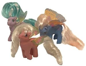 My Little Pony BABY G1 Vintage 1988 SUMMER WINGS Lot of 3