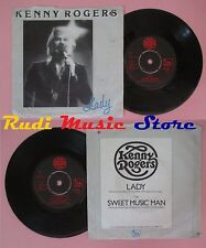 LP 45 7'' KENNY ROGERS Lady Sweet music man 1997 LIBERTY UP 635 no cd mc dvd