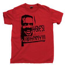 Heres Johnny T Shirt Jack Nicholson All Work And No Play The Shining Kubrick Dvd