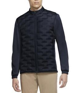 Nike Golf Men's Aeroloft Repel Insulated Navy Jacket CK5900-451 Size Medium