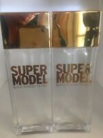 Victoria's Secret Supermodel Sheer Fragrance Mist Set of 2 Bottles