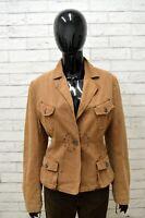Giacca Donna MARLBORO CLASSICS Taglia Size 46 Maglia Blazer Jacket Woman Cotone
