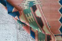 "Handmade Vintage Decorative Ethnic Anatolian Decorative Kilim Area Rug5'8""x3'10"""