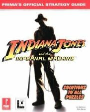 Indiana Jones and the Infernal Machine: Prima's Official Strategy-ExLibrary