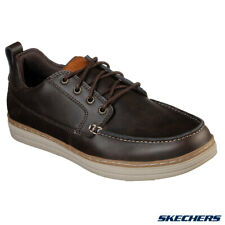Skechers Men's Heston-Sendo Moccasins Brown 65875/CHOC RRP £62 Size UK 8 10 12