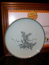 VINTAGE LADY EMPIRE DINNERWARE PERMACAL SALAD PLATE LILY OF THE VALLEY