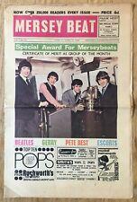 Beatles  Brian Epstein Cavern Club   Mersey Beat  Pop Music Paper  April 1964