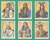 AMERICANA  -  MINT  SET  OF  L 20  NATIVE  NORTH  AMERICANS  CARDS  -  1995