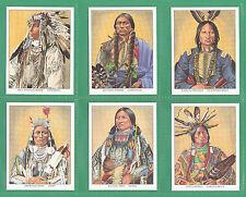 AMERICAN INDIANS - 20 MINT SETS OF L 20 NATIVE NORTH AMERICANS CARDS ORIGINAL